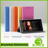 Original Xiaomi Mi3 Flip Cover Leather Stand Protective Cover Case Waterproof Case