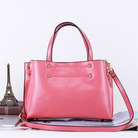 2014 spring and summer genuine leather women's handbag candy color fashion one shoulder cross-body handbag trend of the bags
