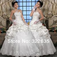 Bride crystal beads the bride wedding dress 2012 wedding suzhou wedding dress formal dress elegant