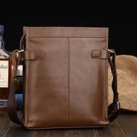 New arrive boy messenger bag genuine leather man leather bags casual commercial  shoulder bag