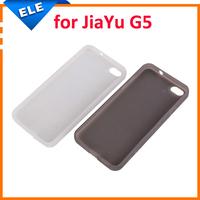 Original Jiayu G5 Silicone Case Cover Black/White in Stock