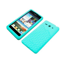 Min.order Min.order is $10 (mix order) Colorful Silicone Comb Antiskid Ruber Case For Huawei C8813 C8813D c8813Q G510