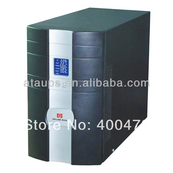 LCD 3KVA online UPS Long Power Backup(China (Mainland))