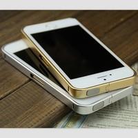 Luxury Ultra-thin 0.7mm Aluminum Metal No Screw Bumper Case Bezel Frame For iPhone 5 5G 5S