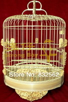 28cm dragon desgin carving bamboo birdcage full handmade decoration birdcage