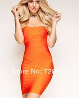 North America Weddings & Events  Special Occasion Orange Color Dresses  Prom Dresses  6 Colors 302