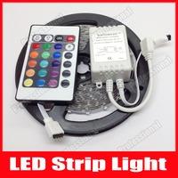 5M/Roll 5M DC 12V 60LEDs/M RGB 3528 300leds Non-waterproof LED Strip Light Lamp+24key IR Remote Control, Free Shipping