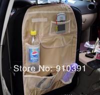 Selling functional car storage bag waterproof Oxford hang bag as car accessory.