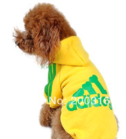 "New Arrival 19.5""(50cm) Dogs body Hoodied Pet Dog's coat  Free shipping  Clothing for Dog"