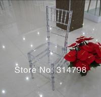 Transparent Tiffany Chair, Resin Chiavari Tiffany Chair, Used as Wedding Chair or Banquet Chair