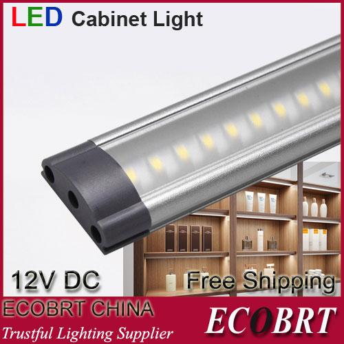 2014 superficie piana collegabili dimmerabile smd3528 12v 3w sotto gabinetto guidato bar tubo lampadina luci di illuminazione lampade ce rohs 2pcs/lot