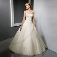 2013 winter tube top sweet princess straps wedding dress ff00608