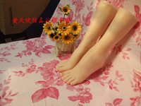 Exclusive dealing-shoes model sex product solid silicone feet Pussy Foot fake women feet model girls feet #37A06