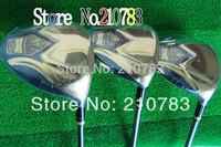 New Golf Clubs Maruman Majesty Prestigio Super71# driver 9.5 loft .3/5Woods.R/S shaft,With Club head covers EMS Free Shipping