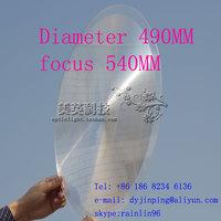 Fresnel lens:Diameter 280 F400mm  ,long focus lens,stage light fresnel lens