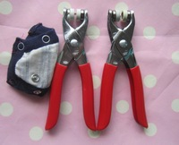 9.5mm prong snap button tools household hand plier baby romper metal popper buckle plier