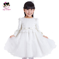 2014 new Princess sweet girl's spring one-piece dress puff skirt tulle dress skirt  wedding party dress,female children clothing