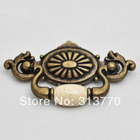 56mm Free shipping ceramic Furniture Handles  Knob Drawer Wardrobe Handle