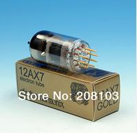 Free shipping 2pcs Russia vacuum tubes Electro-Harmonix Gold Pins tube pair 12AX7