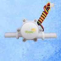 USN-HS10PA Hall Water Flow Sensor 10mm O.D. 0.3-10L/M Exclusive Design ABS Material Food Grade Sensor High Accuracy