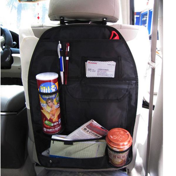 Car Auto Back Seat Hanging Organizer Storage Bag Cup Holder Multi Use Travel(China (Mainland))