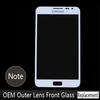 Black and White Front Digitizer Touch Outer Glass Lens Screen For Samsung Galaxy Note i9220 N7000 Replacement+tool