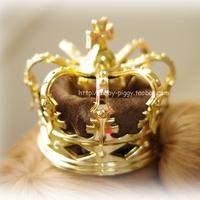 Lolita hair accessory chocolate - crown hair accessory