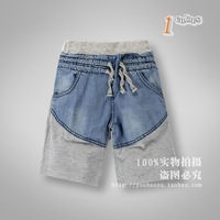 Wholesale 2014 Kids boys Summer Patchwork shorts 5 Pack 3-8 years old boys
