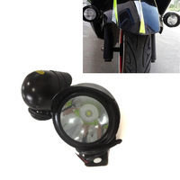 Free Shipping 2 x Motorcycle Off Road Bike E-bike LED Spot Light Headlight 12V-80V White