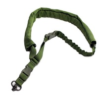 Top Quality Heavy Duty  Single point Bungee Sling with Velcro adjust Strap Side-release buckle  Swivel Push Botton