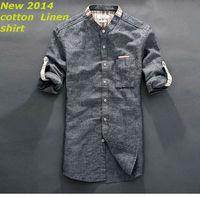 New  2014   men  Fashion Casual  slim fit shirt  brand  long sleeve  camisa  shirts   31065  XS S M L XL XXL XXXL