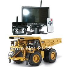 1 set Car Wireless CCTV Video Reverse Camera Monitor system 12V-24V Autos Parking Backup Rear view Reversing cam kit(China (Mainland))