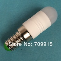 Upgrade!!! E14 Small Ceramic Led Bulb 2w White/Warm colors  220-240v/ac high power fast shipping 2days