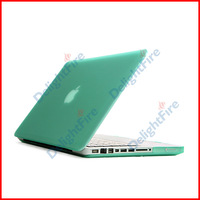 "Green Rubberized Back Case Cover Housing For Macbook Air 13"" inches A1466 A1369 Free Shipping"