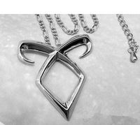free shipping 30pcs/lot The Mortal Instruments Angelic Power Mortal Cup Hinged Door Necklace