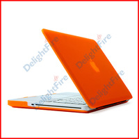"Orange Rubberized Back Case Cover Housing For Macbook Air 11"" inches A1465 A1370 Free Shipping"