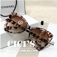 2014 new fashion summer cat  frame glasses, polarized sunglasses female star models, retro leopard sun glasses for women UV400