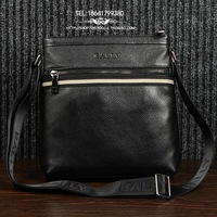 handbagMen's single shoulder bag diagonal package business casual leather bag handbag