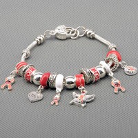 Fashion European Style Charm Bracelets 925 silver bracelets for women Fine charm bracelets jewelry free shipping PAN-BR025