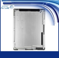 Silver Metal Back Cover Housing Door For ipad 2 with 3g Version free shipping