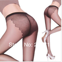 Ultra-thin Core-spun Yarn t silk pantyhose socks transparent invisible bikini butterfly socks