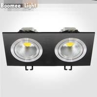 2014 New 5W*2 LED COB LIGHT LED Grille Lamp Super bright led light black color
