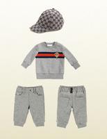 Retail spring 2014 New  Baby Boys 3pcs clothing set lon sleeve sweater shirt+kids pants+hat baby boys sport clothing