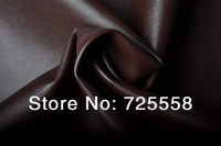 Free Shipping,Soft Brown  Leather Fabric For Making Clothing Garments,Brown Clothing Leather Fabric