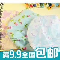 Waterproof shower cap print shower cap decoration lace shower cap eco-friendly shower cap hair cap 15g