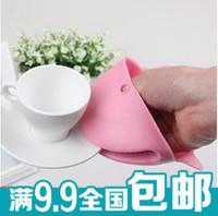 A38 shote anti hot glove thickening silica gel cartoon microwave oven anti hot glove