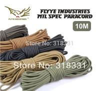 (Wholesales / 10 Pieces) Genuine FYLLE OT-G008 1000D CORDURA Mil--Spec Nylon Fabric Parachute Cord & Paracord & Paracord Lanyard