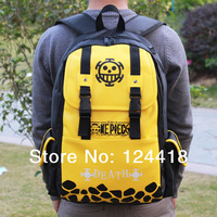 2014 NEW Style Free Shipping One plece Backpacks captain luffy Anime peripheral backpack