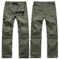 Men's Detachable Hiking Pants outdoor Travel Trekking Camping Pant Climbing Quick Dry Waterproof pants YP0603-001