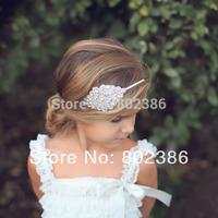 Free Shipping Rhinestone Rhinestine NewBaby Headband,Kids Hair Accessories,Girl Headband